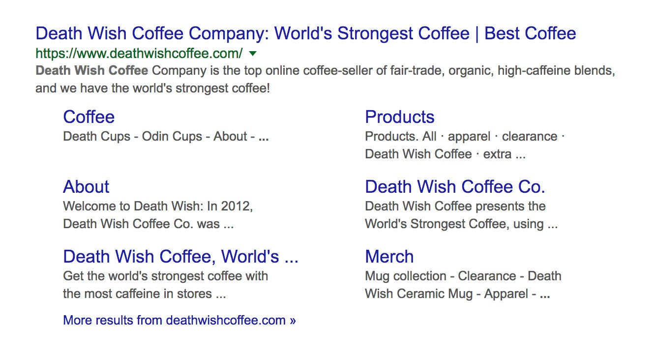 homepage title examples
