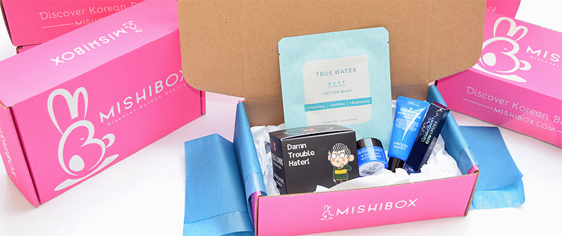 Subscription box Mishibox prodotti di bellezza coreani