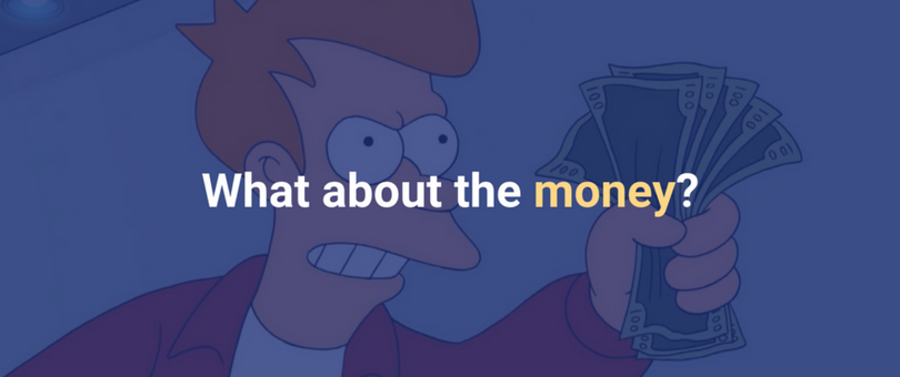 What about the money?