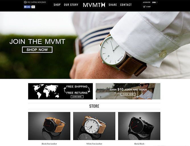 MVMT Watches  (Jewellery & Crafts)