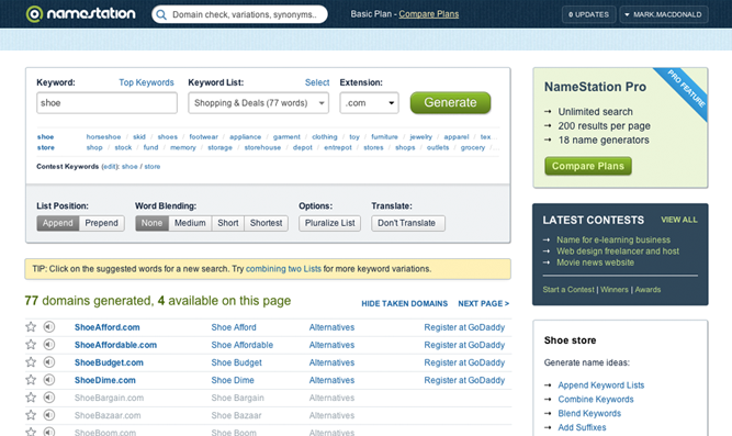 10 Business Name Generator Tools to Find the Perfect Domain ...