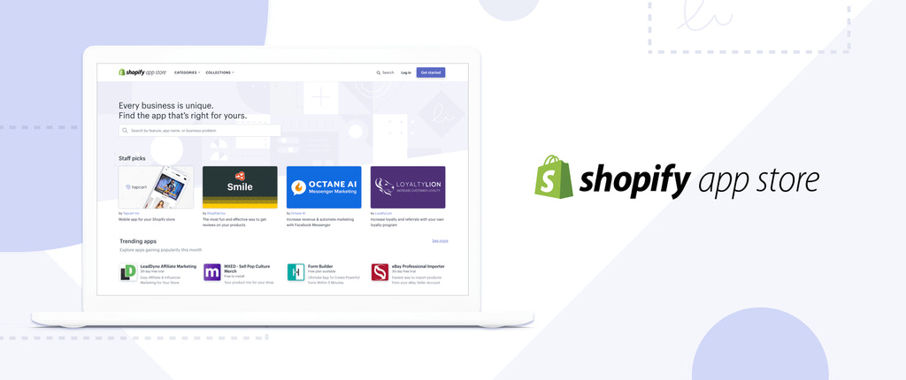new shopify app store announcement