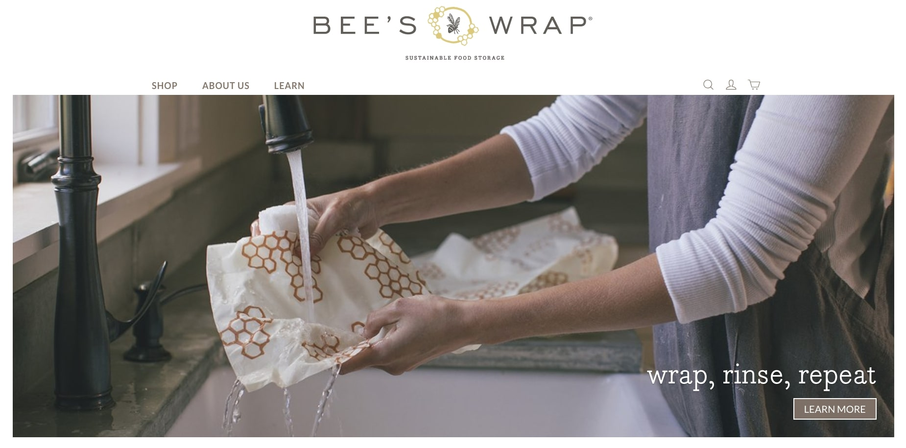 bee's wrap is an example of a niche market business