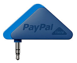 """PayPal Here"" reader device"