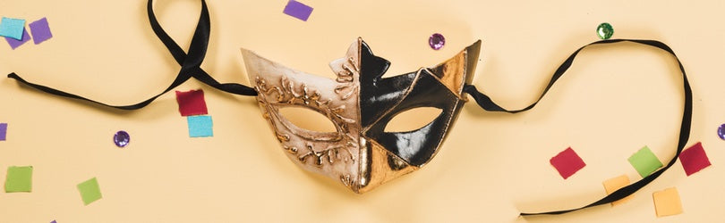 mask representing personas for social media marketing
