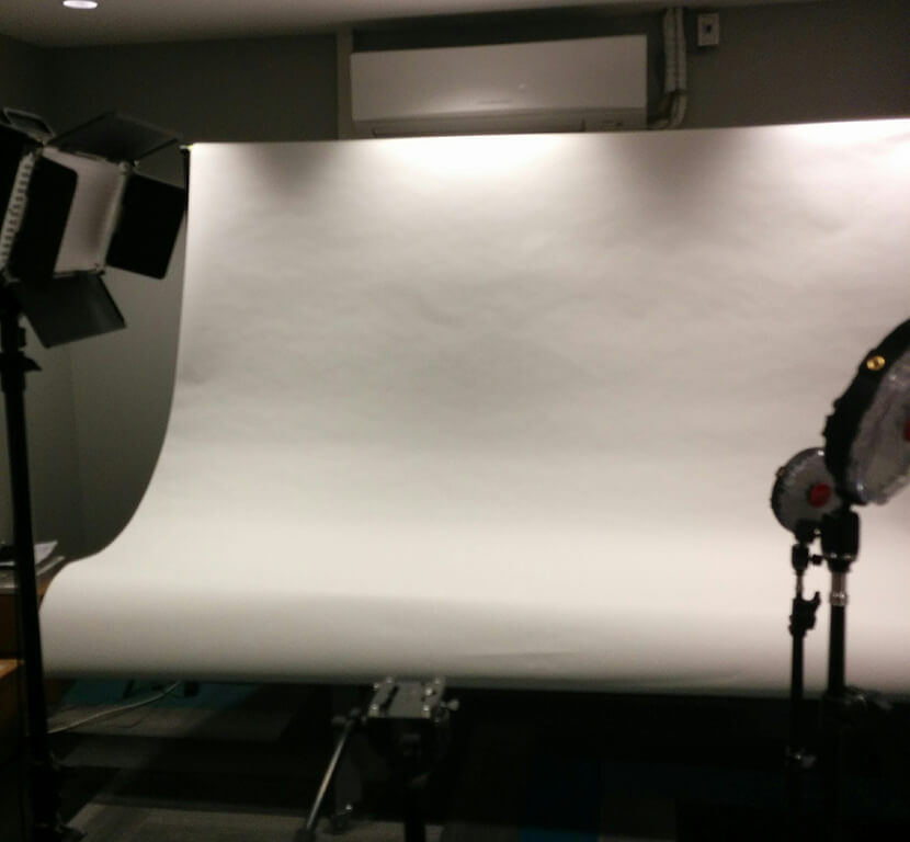 Product photoshoot setup