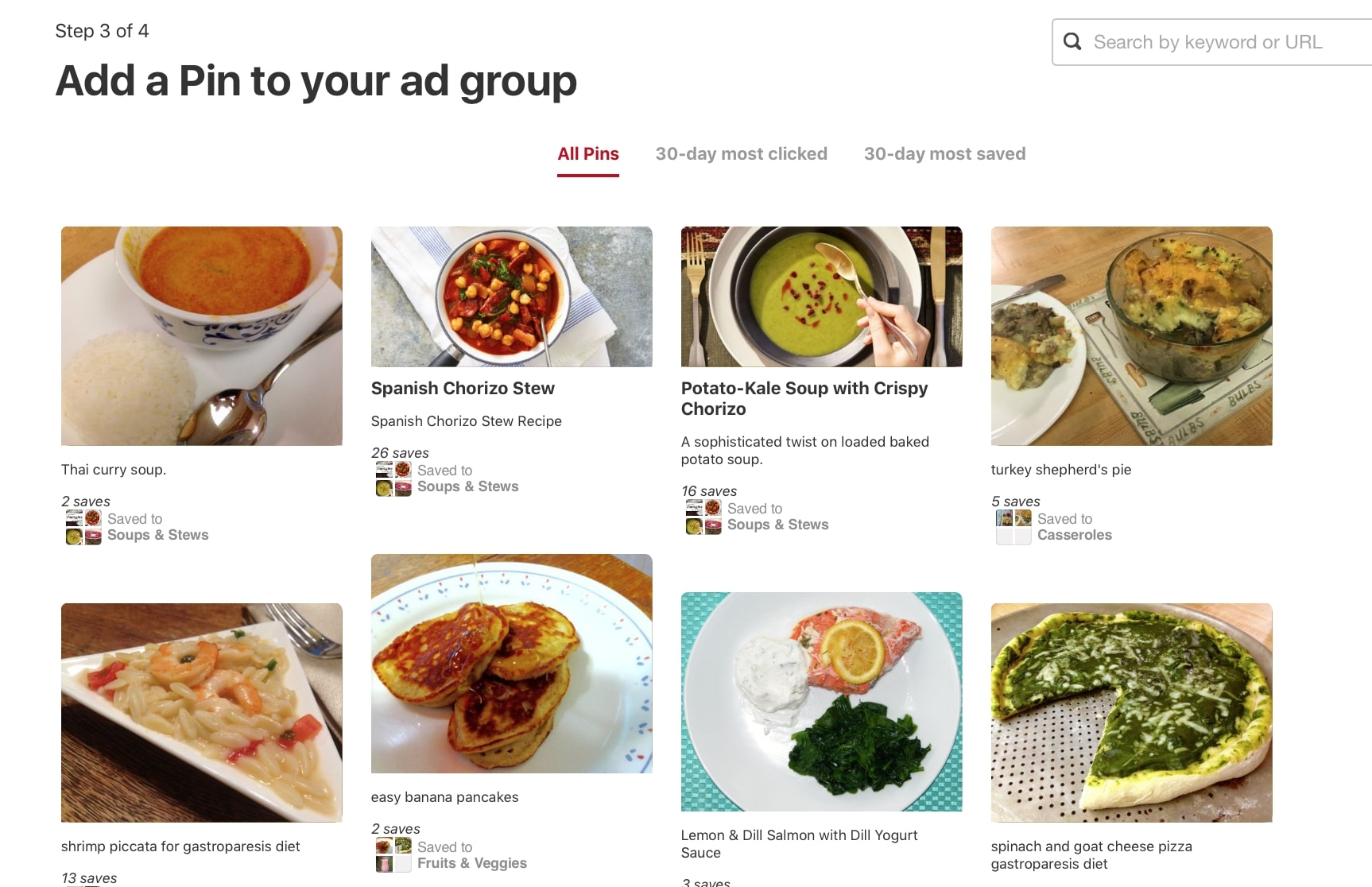 pinterest ads picking your pin