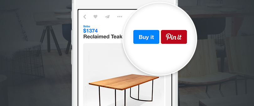 You Can Now Sell on Pinterest with Buyable Pins and Shopify