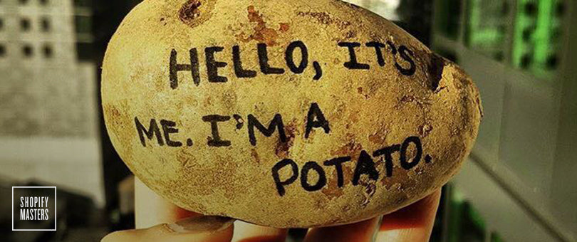 How One Entrepreneur Bought a Store on Flippa That Generates $20K a Month Selling Potatoes