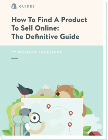 how to find products to sell on shopify