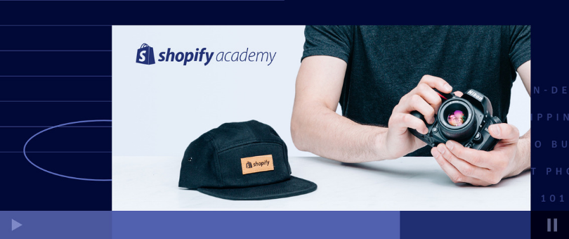 Product Photography for Ecommerce: A New Course from Shopify Academy