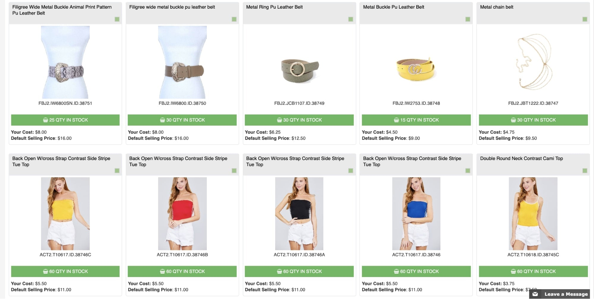 my online fashion store shopify app for sourcing fashion items