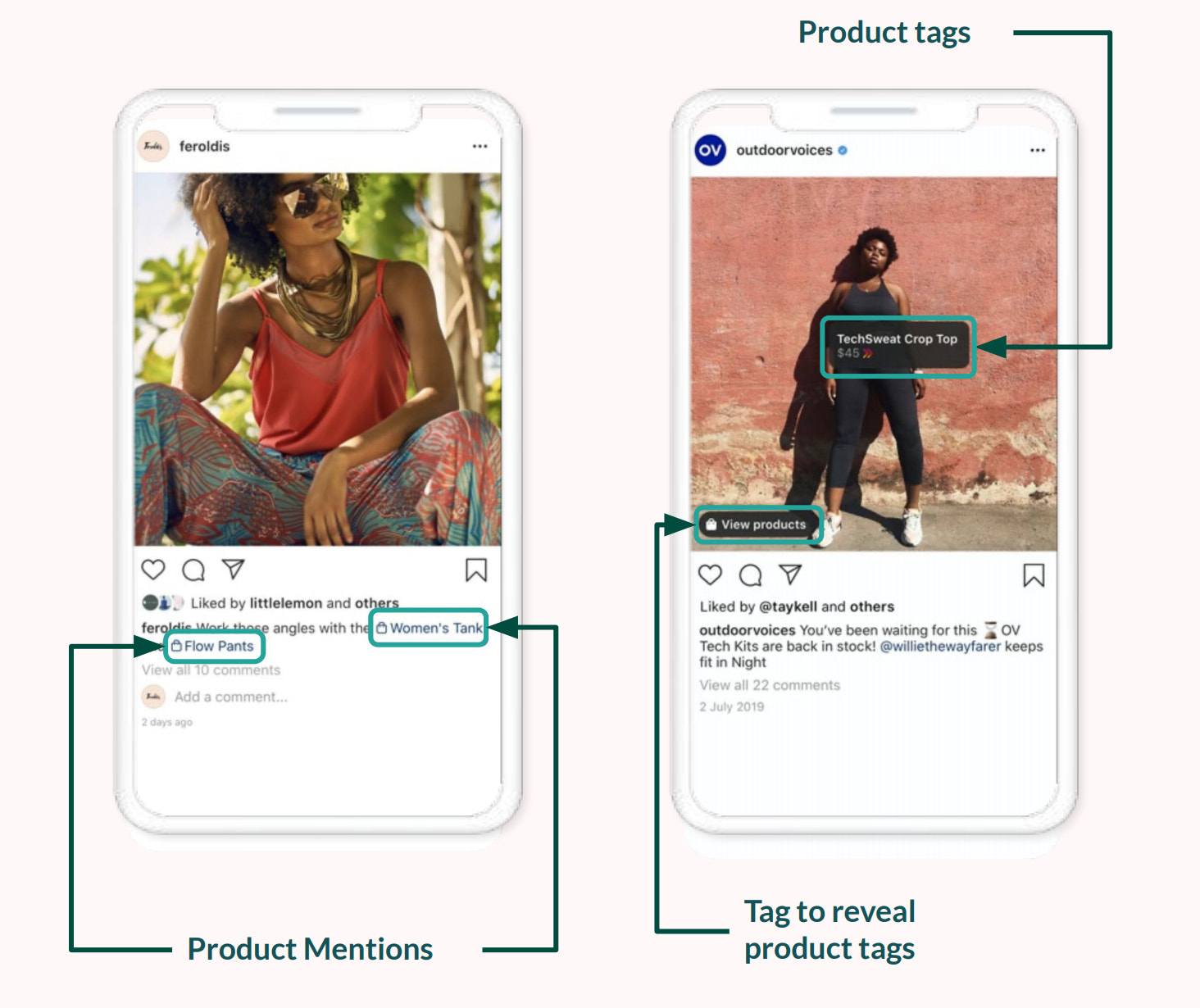 shoppable post example