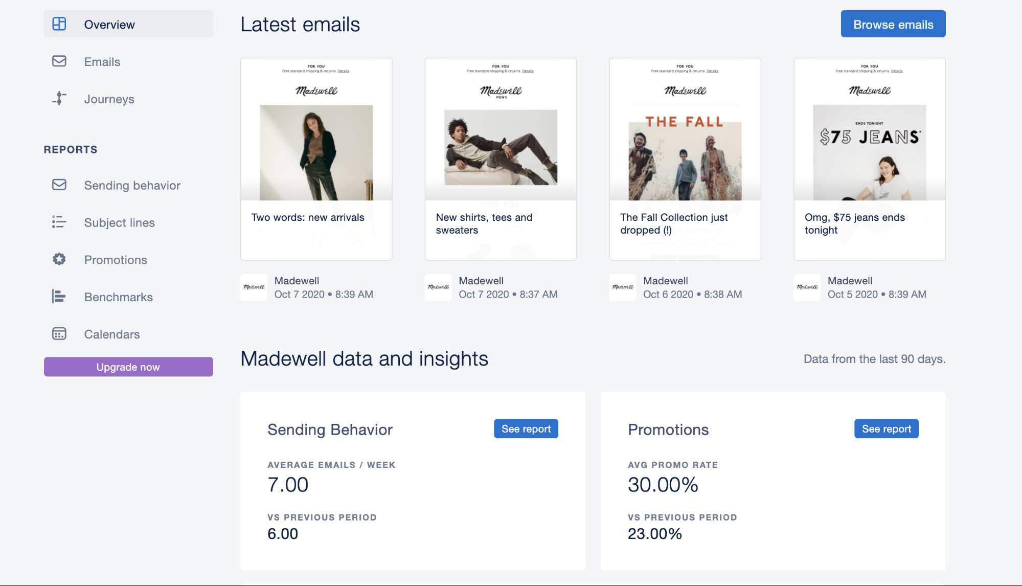 mailcharts email marketing analysis