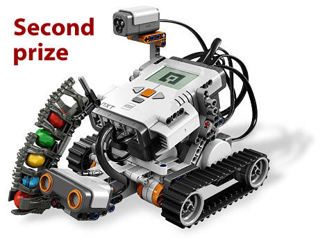 Second prize: Lego Mindstorms robot