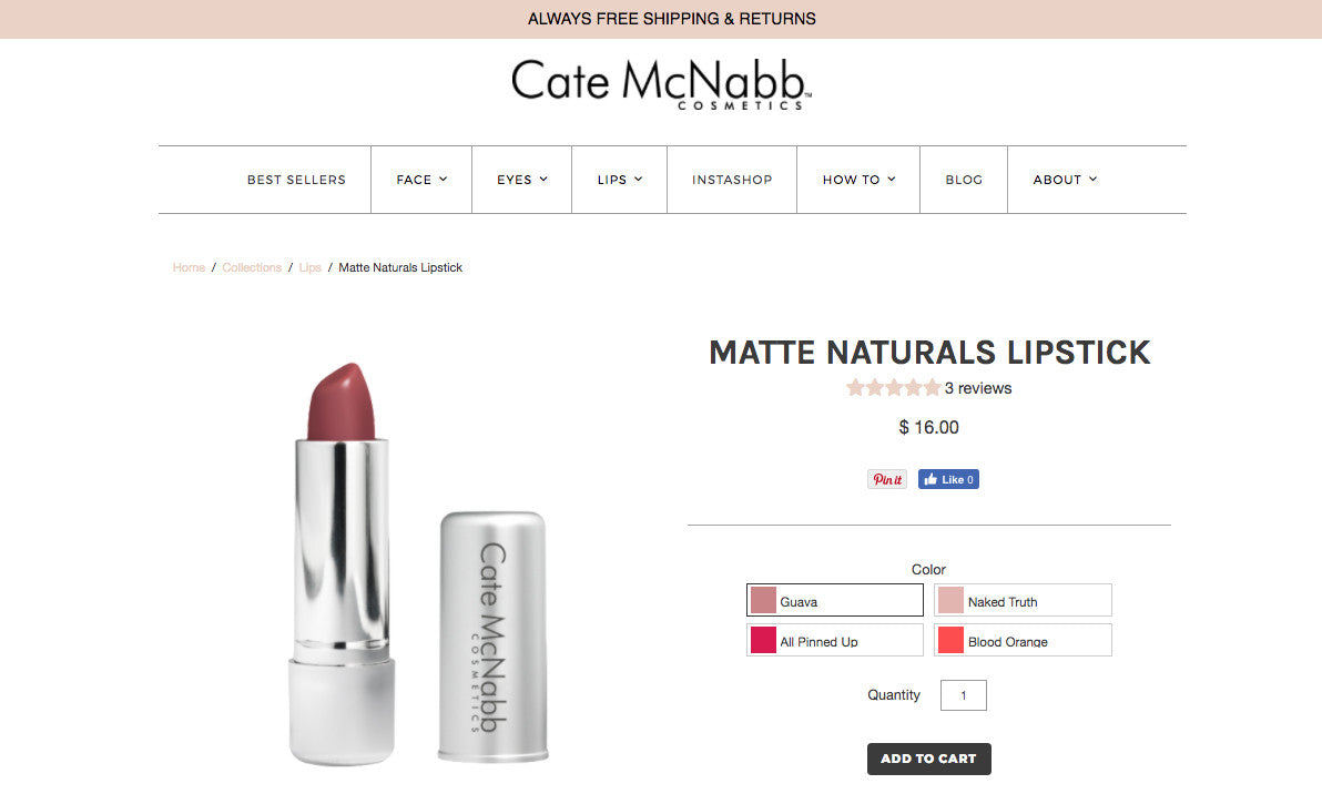 sell makeup online