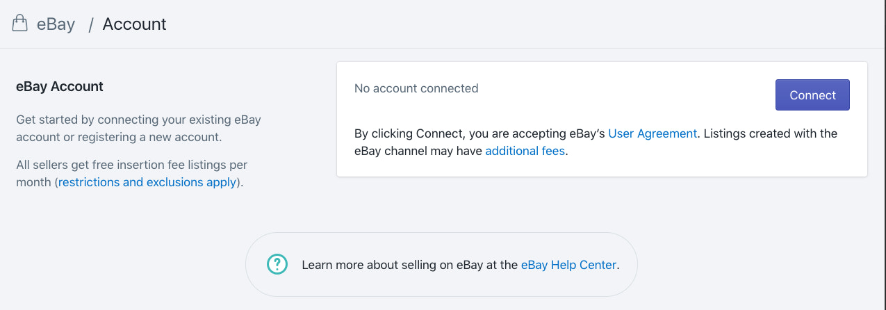 Connecting Ebay To Your Shopify Account How To Sell Online