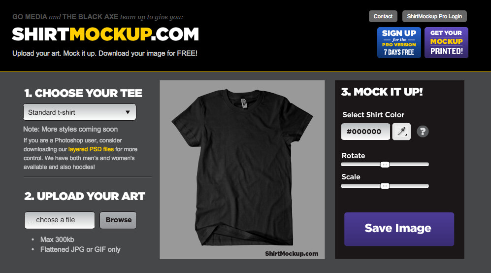 7f08d25bfe0d9 T-Shirt Templates: 22 Awesome T-Shirt Mockups & PSD Templates