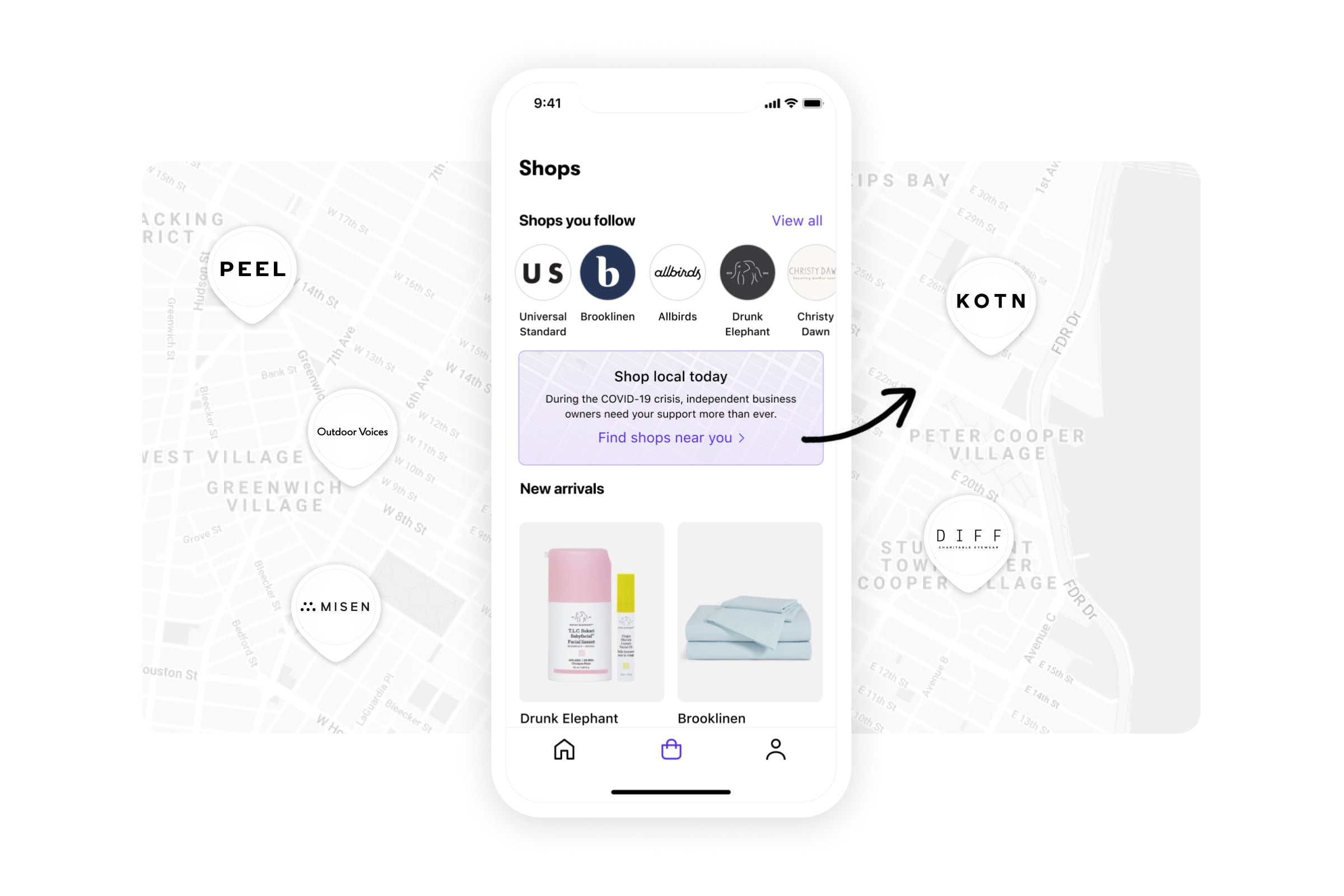 Shop App A Free Digital Assistant For Online Shopping