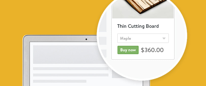 Add Ecommerce to Any Website with the New Shopify Buy Button