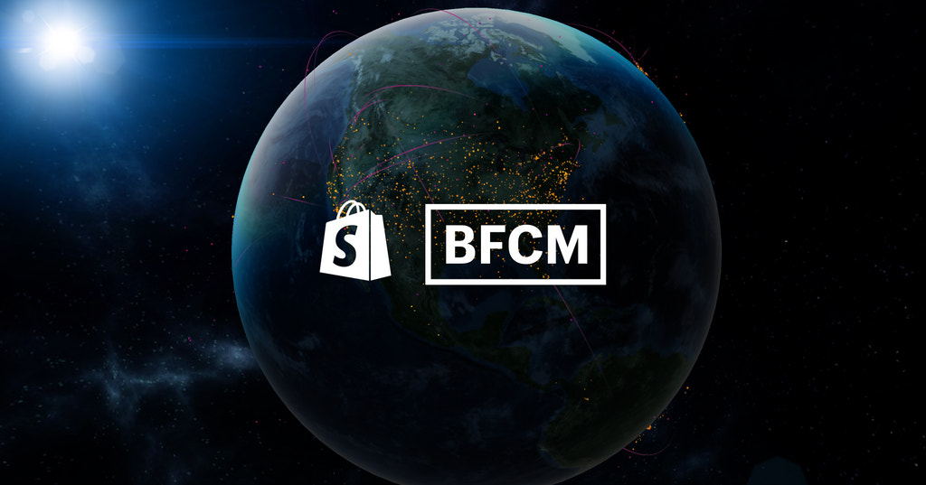 Shopify's Live Map for BFCM