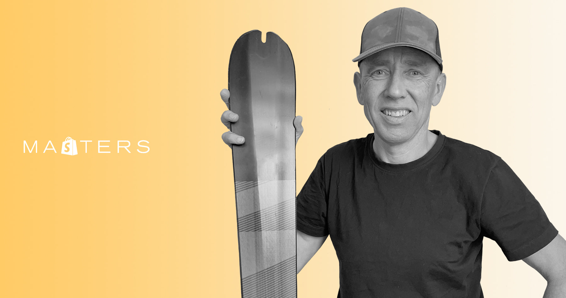 Founder of Hagan Ski Mountaineering, Michael Hagen.