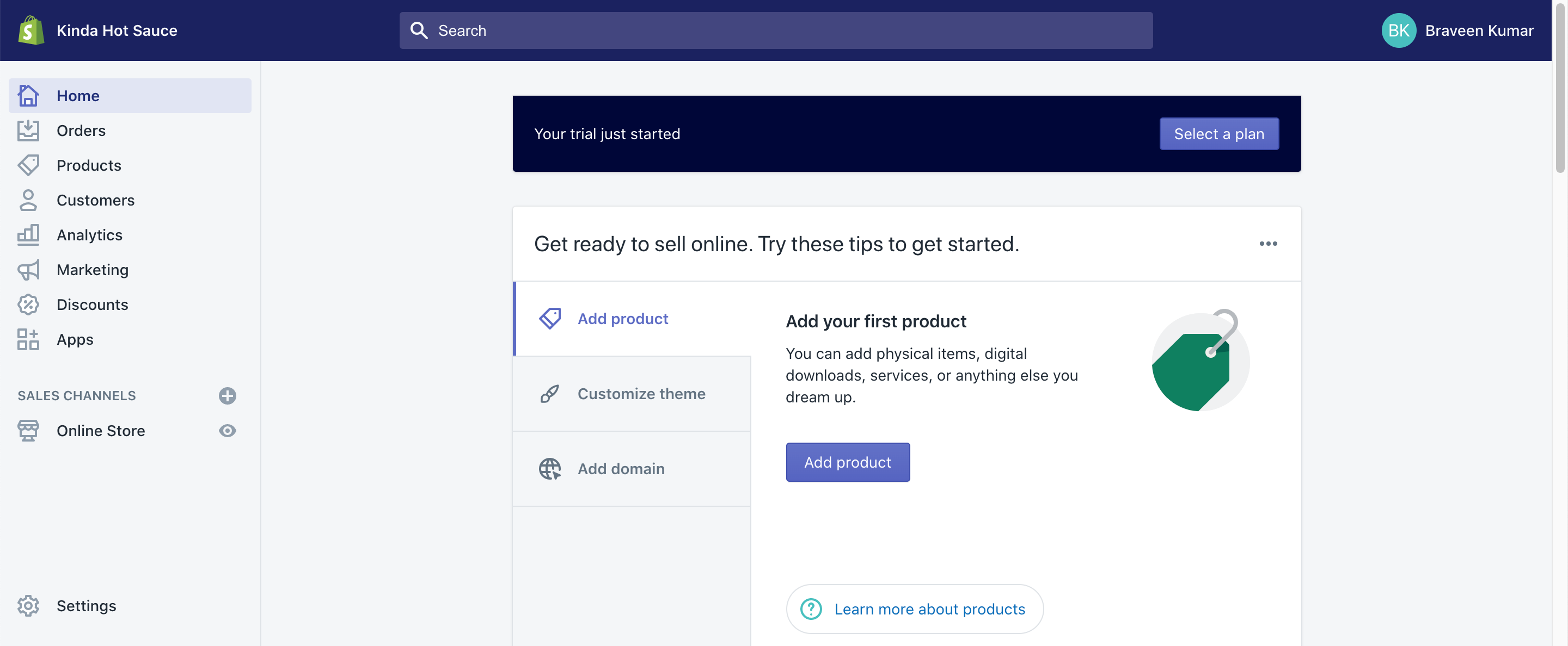 How to create your shopify store in 2020