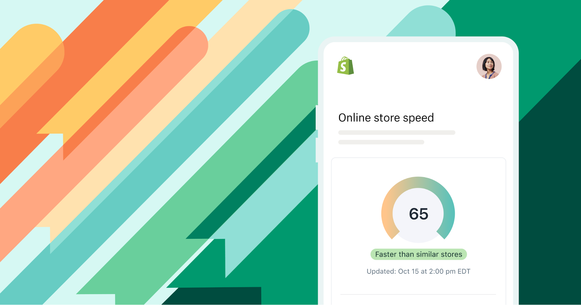 Measure your Shopify store speed with our performance reports.