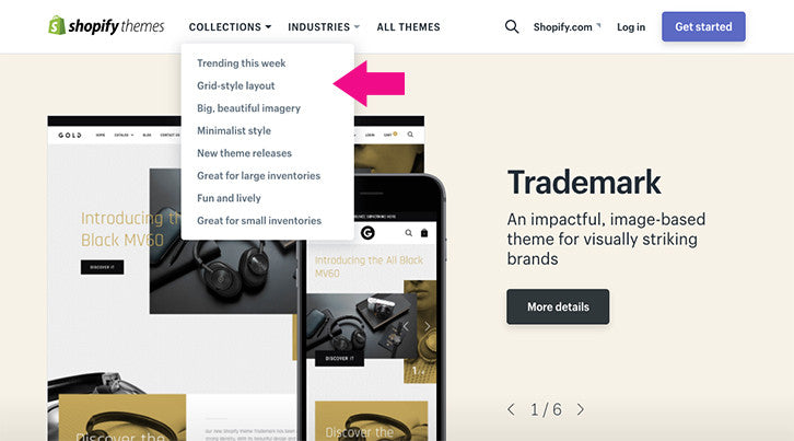How To Pick The Perfect Theme For Your Shopify Store - Shopify store templates