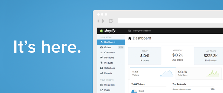 Introducing: Shopify 2