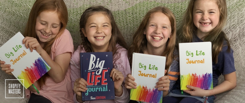 big life journal on shopify masters