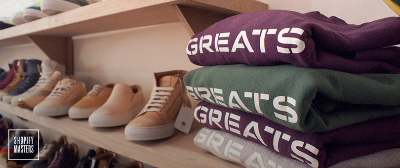 How Greats Built a Footwear Brand With a 50% Repeat Purchase Rate