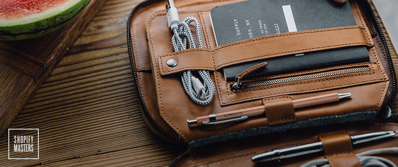 How a Leather Goods Brand Grew Their Etsy Shop into an Established Business