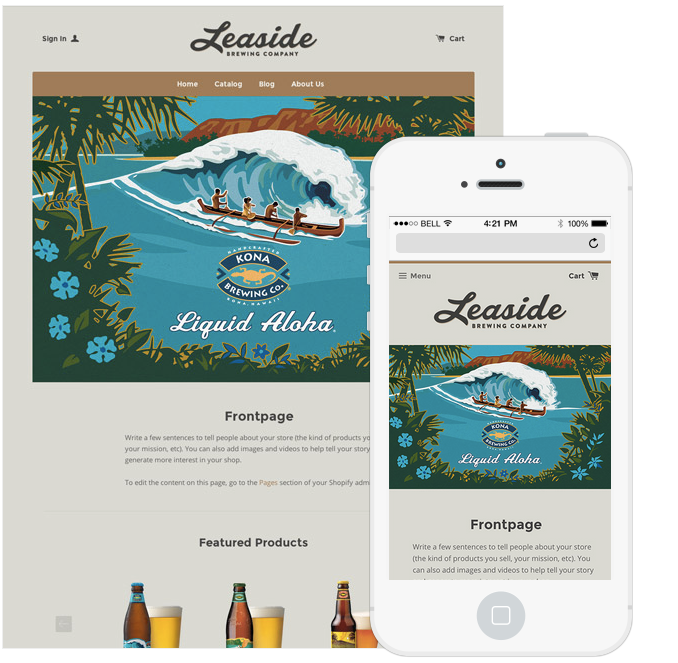 13 Stunning Responsive Ecommerce Website Templates for Your ...