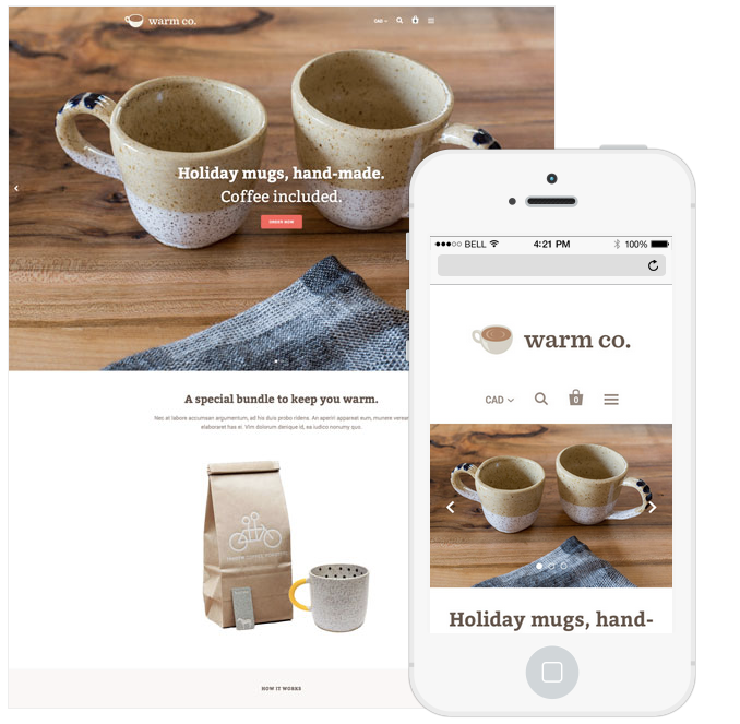 Stunning Responsive Ecommerce Website Templates For Your Shopify - Shopify website templates