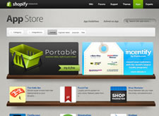 Screenshot of the Shopify App Store