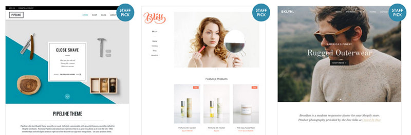 Enter the Shopify Theme Store