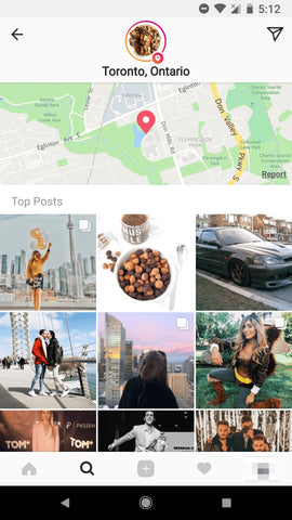 geotagging on instagram