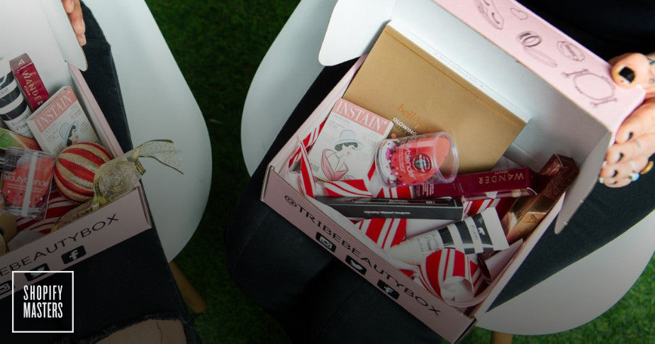Beauty subscription boxes by Tribe Beauty Box.