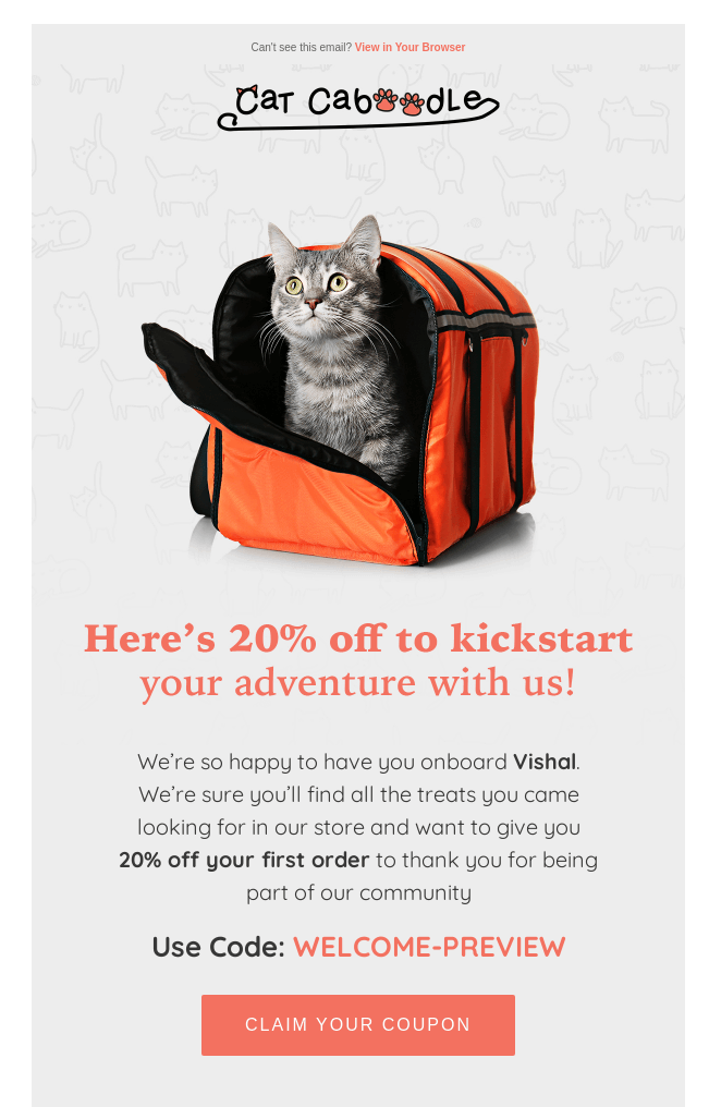 Cat Caboodle email