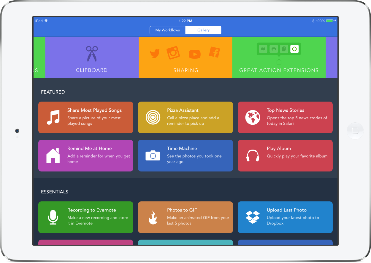 workflow time management app