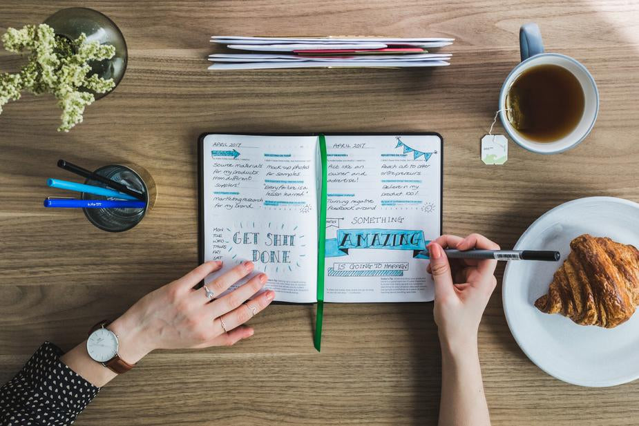 Writing down your goals can help you plan your investments in your business