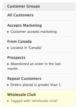 New Feature: Discount Codes for Customer Groups
