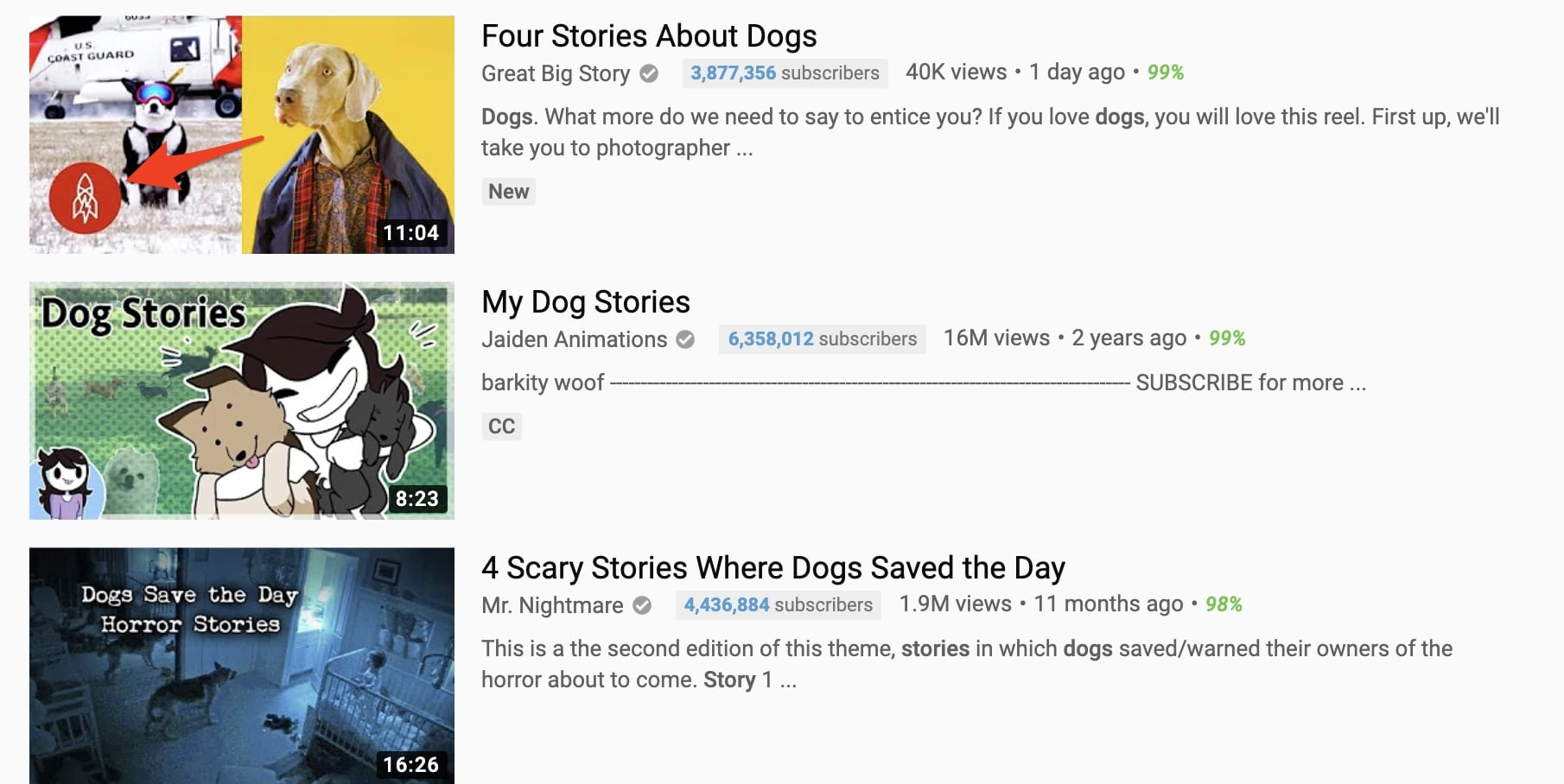 great big story using branded thumbnails on youtube