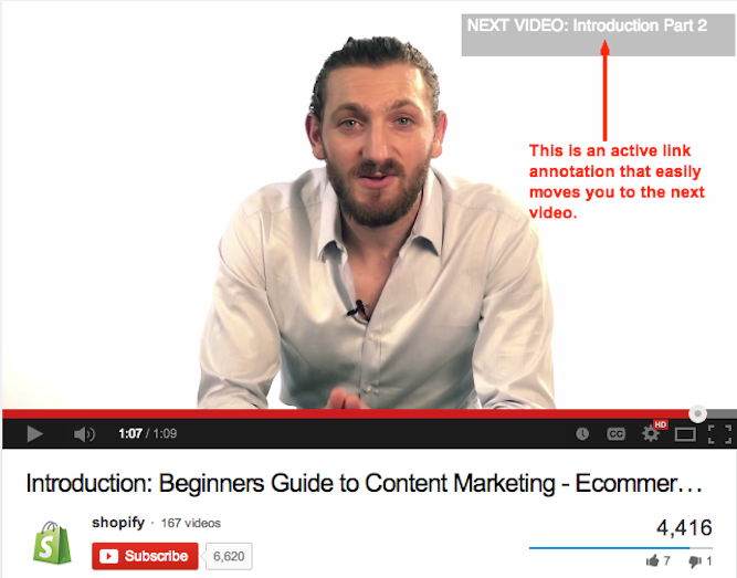 5. Use Annotations to Keep And Engage Your Audience