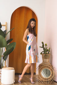 Hallie Drop Hem Dress