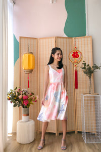 Theora Watercolour Dress (XS/S/M/L)