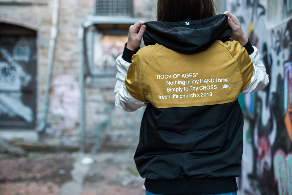 Rock of Ages Windbreaker