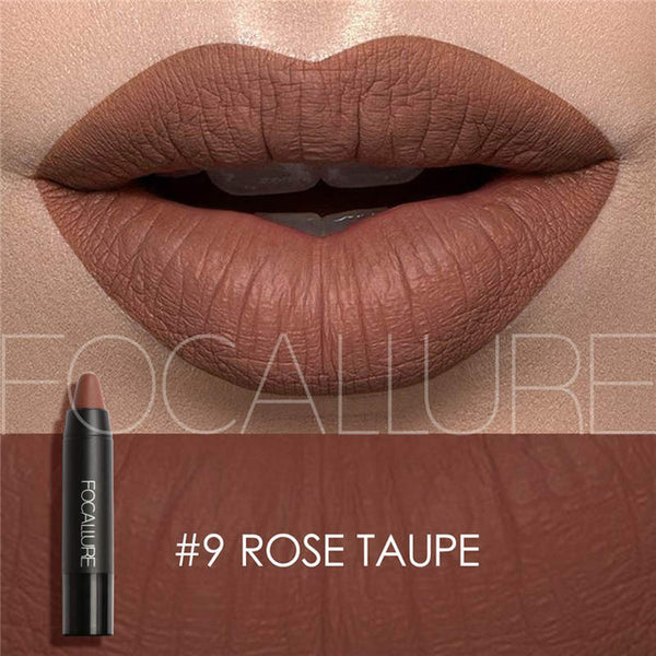 12 Colors Matte lipstick Waterproof Nutritious Lips Long Lasting Easy to Wear Lipstick Makeup