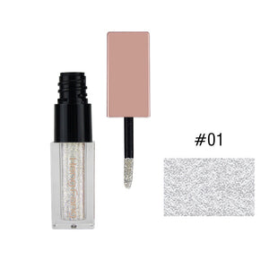 Hengfang Mineral Shadow Makeup Diamond Pearl Liquid Eye Shadows Metals Glitter & Glow Liquid Eye Shadow